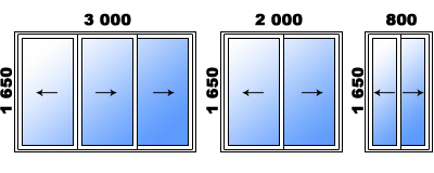 Г-образная лоджия пять метров